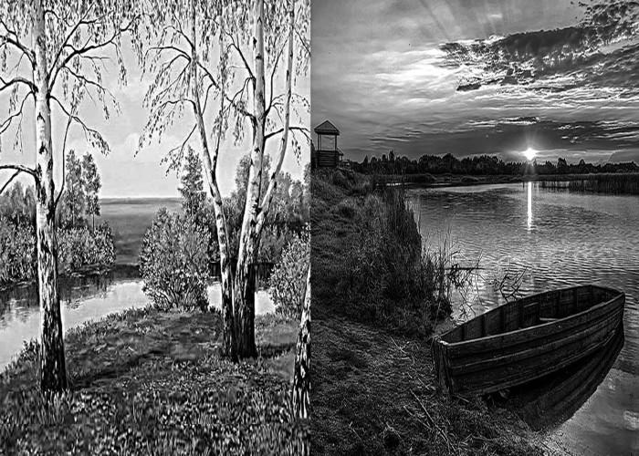 Памятники фото с природой художественные памятники на двоих цена иваново